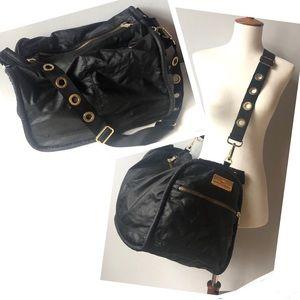 Stella McCartney ADIDAS Black Gym Duffel Bag